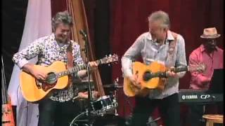 Tommy and Phil Emmanuel - Guitar Boogie (2011 Woodsongs show 624)
