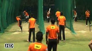 IPL9 GL vs SRH: Sunrisers Hyderabad Practice Session