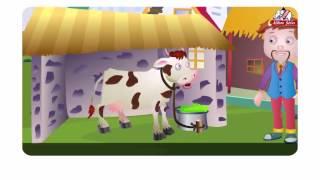 Moo,Moo,Brown cow-English Rhymes-Vol 3