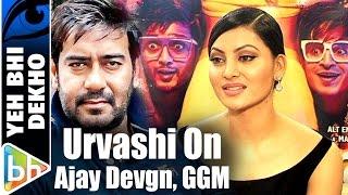I Hope Ajay Devgn Really Likes My Role In Great Grand Masti | Urvashi Rautela