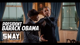 President Barack Obama Reveals Michelle Obama Running for Office, Top MCs + Advice to Hillary