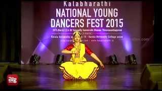 Bharathanatyam by Aishwarya Raja 1 in Kalabharathi National Dance Music Fest 2015 Trivandrum