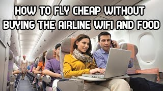 How to Travel without buying Inflight entertainment/WIFI/Food - SCOOT and AIRASIA Economy Review