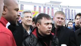 Костя Цзю и Рой Джонс интервью