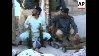 Pakistan - Police/Suspects Shootout Kills Six