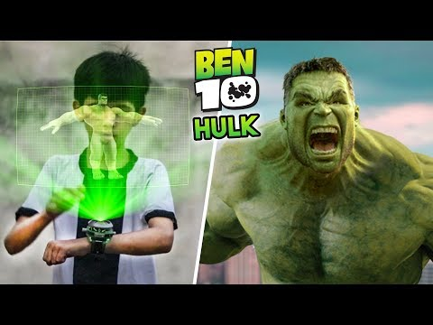 Ben 10 Transforming into Hulk (Special Episode) | A Shortfilm VFX Test