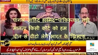 Latest news debate show 2017-Zaid Hamid and Pakistan frustrated after India wins Kulbhushan case