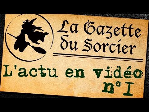 L'actualité Harry Potter en vidéo (n°1) feat. Nini 9 ¾