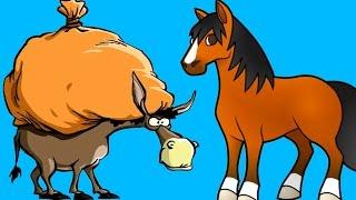 Telugu Cartoon Moral Stories for Children | Gadidha Baruvu Short Movie For Children | Telugu Kathalu