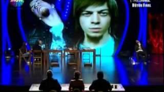 Aref Ghafouri büyük Final Yeteneksizniz Türkiye