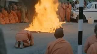 Vietnamese Buddhist Monk Self Immolation