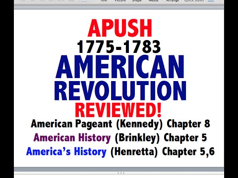 American Pageant Chapter 8 APUSH Review