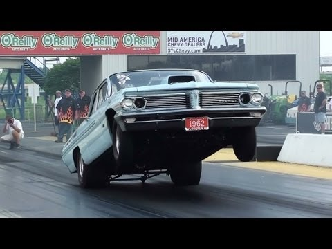 Vintage pontiac catalina racing
