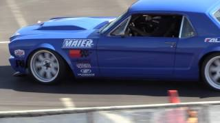 Maier Racing's Ford Mustang's 1st-Run @ Good Guys Autocross: 11/13/2016