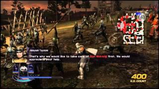 Warriors Orochi 3 - Ryu Hayabusa Gameplay
