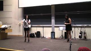 Persian Comedy with Roya and Yasi - UC Irvine Iranian Student Union Culture Show 2011