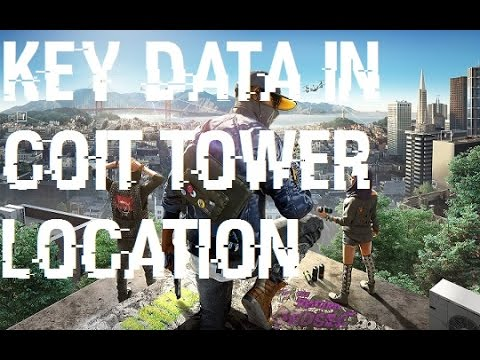 Watch Dogs 2 - Key Data in Coit Tower Location
