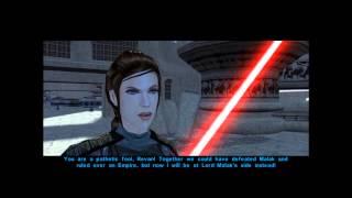 Star Wars Knights Of The Old Republic: Revan Vs. Bastila