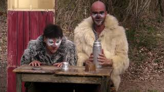 """""""Les Tinettes """" clowns nordique triple épaisseurs"""
