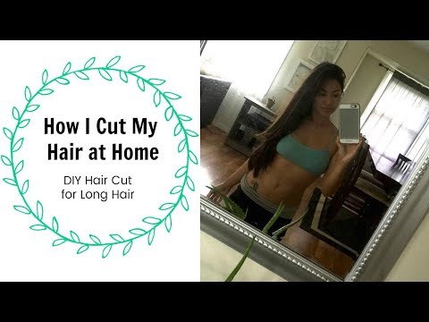 Xxx Mp4 HOW I CUT MY HAIR AT HOME FOR LONG HAIR LONG LAYERS 3gp Sex