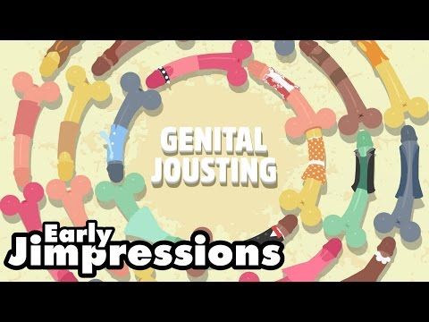 GENITAL JOUSTING - Human Centipeen (NSFW)