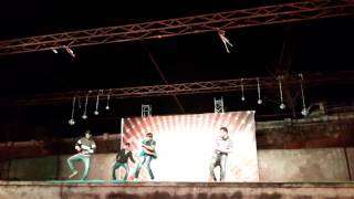 We love Bad boys   Bussines Man   Mahesh Babu   Kajal Agarwal   dance performance by civil students