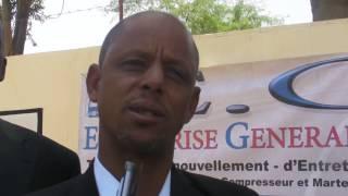 Le directeur de l'ISEP de Rosso Mauritanie, le docteur Ahmed Ould El Hadj Salamata.