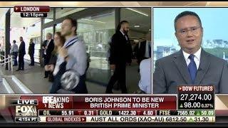 "Nile Gardiner: Boris Johnson ""A Real Breath of Fresh Air,"" Brexit Is His ""Top Priority"""