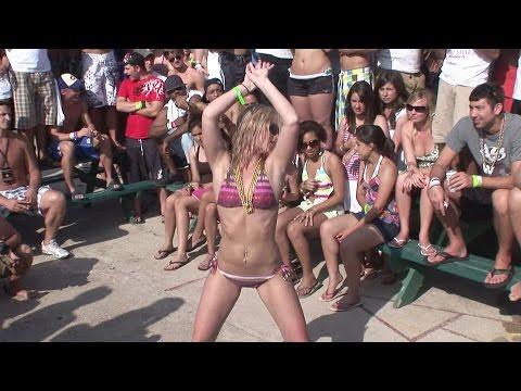 Bikini Dance Contest - Spring Break