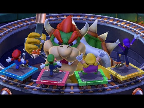 Xxx Mp4 Mario Party 10 Bowser Party Mode Whimsical Waters Master Difficulty Team Bowser 3gp Sex
