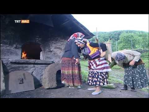 Mısır Helvası Yapımı Çetrik Köyü Şalpazarı Trabzon Derin Kökler TRT Avaz