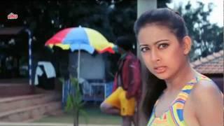 Preeti Jhangiani in sexy yellow swimsuit