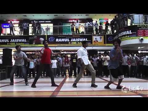 Flash Mob Culrav 2014 by MNNIT Students at Vinayak City Centre Allahabad