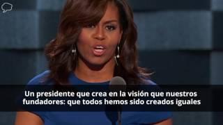 Las mejores frases del discurso de Michelle Obama