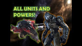 THE ARBITER ALL UNITS AND LEADER POWERS SHOWCASE! - Halo Wars 2 DLC GAMEPLAY