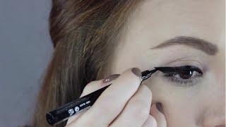 Kolay Eyeliner Nasil Cekilir? (Easy Tips for Applying Eyeliner) | Aslı Özdel