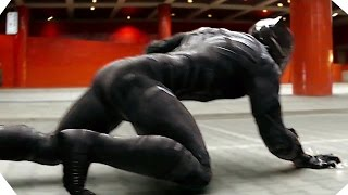CAPTAIN AMERICA Civil War - Black Panther is Awesome - Movie Clip # 5