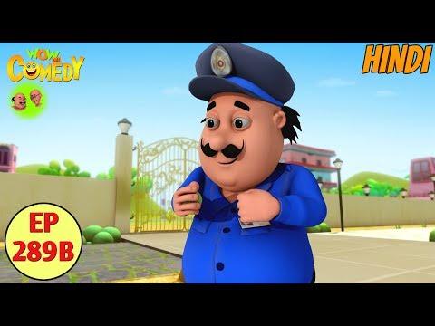 Motu Patlu | Cartoon in Hindi | 3D Animated Cartoon Series for Kids | Motu The Watch Man