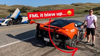 DESTROYED MY LAMBORGHINI HOURS BEFORE A CHARITY EVENT FOR KIDS! *EMOTIONAL*