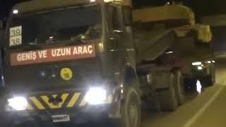 BREAKING ISLAMIC Turkey Military Tanks Convoy to Idlib Syria Raw Footage 9/11/18