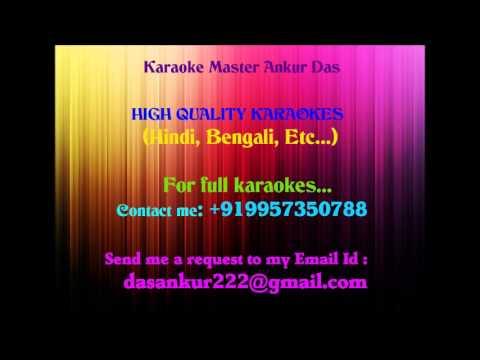 Amar Hiyar Majhe Lukiye Chile Karaoke By Ankur Das 09957350788