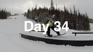 Day 34: One Foot.... No Problem - Keystone