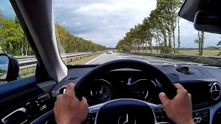 Mercedes-Benz SL400 Autobahn Ride POV