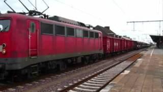 DB (Deutsche Bahn) 140217-1 & 145056-8 at / in Rheine (08/04/2009)