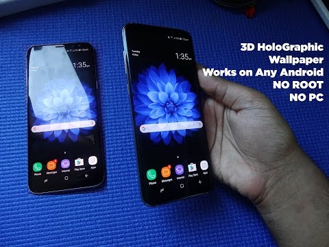 Download 3D Holographic Wallpapers For Samsung Galaxy S8 and S8+