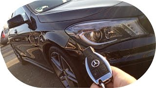 Taking delivery of friends new car Mercedes CLA 45 AMG [Vlog] + Exhaust Sound
