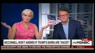 Morning Joe Hosts Slam Paul Ryan For Pretending To Be Surprised By Trump's Attacks On Hispanic Judge
