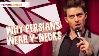 Why Persian Men Wear V-Neck Shirts - (Kvon Explains)