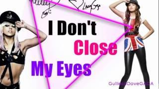 Lady Gaga - I Don't Close My Eyes ft. Miley Cyrus (Audio) HD VEVO New Song 2012