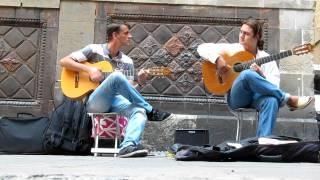 Flamenco Guitar. Barcelona street music (HD)